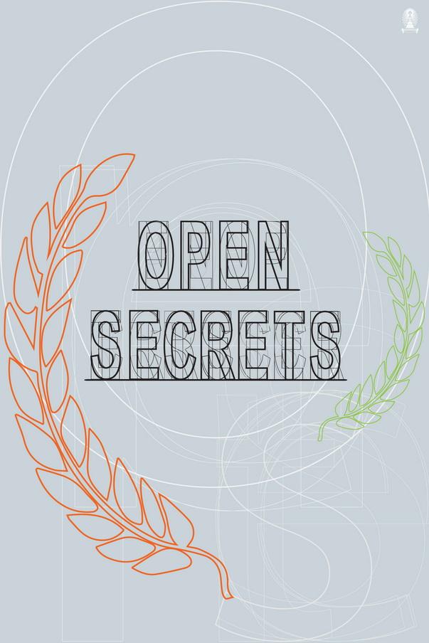 Open secrets Invitation Card 2015 Front